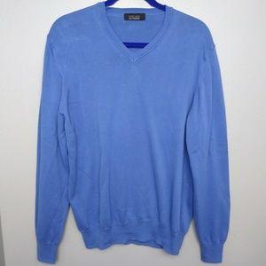 Zara Man V Neck Pull Over Sweater Sz Large